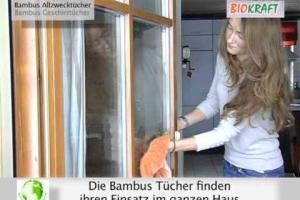 Embedded thumbnail for Бамбуковые салфетки для чистки, полировки поверхностей и протирания пыли