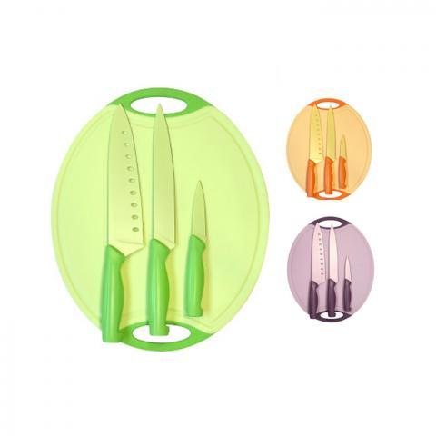 Купить Антибактериальная разделочная доска Microban с ножами из японской стали Киев Украина интернет магазин. Эко товары без химии